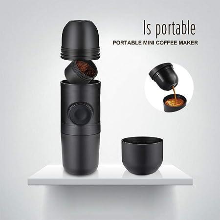 HHY Handheld – Cafetera de Espresso portátil, tamaño Mini, Prensa ...