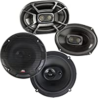 Polk 6x9 Inch 450W Marine Speakers + MTX Terminator 653 6.5 90W Car Speakers