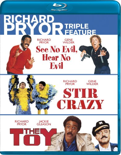 Richard Pryor Triple Feature (See No Evil Hear No Evil  Stir Crazy  The Toy) [Blu-ray]