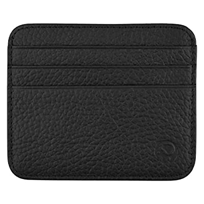 MaxGear Genuine Leather Credit Card Wallet for Business Wallet for Men Credit Card Holder Slim Leather Wallet