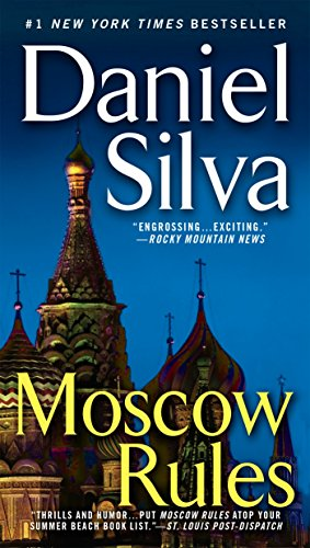 Book cover from Moscow Rules (Gabriel Allon) by Daniel Silva
