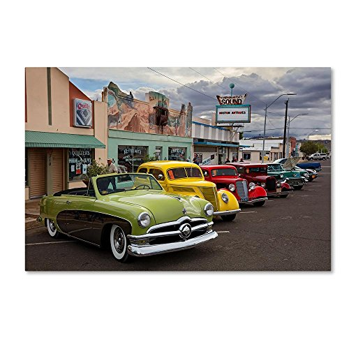 Rt 66 Fun Run Kingman by Mike Jones Photo, 16x24-Inch Canvas Wall - Is Boston Downtown Where