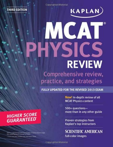 Kaplan MCAT Physics Review Notes (Kaplan Test Prep)