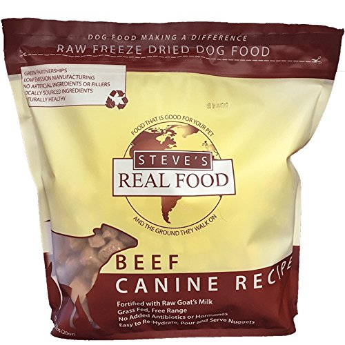 Raw Goat - Steve's Freeze Dried Nuggets 1.25# (Beef)