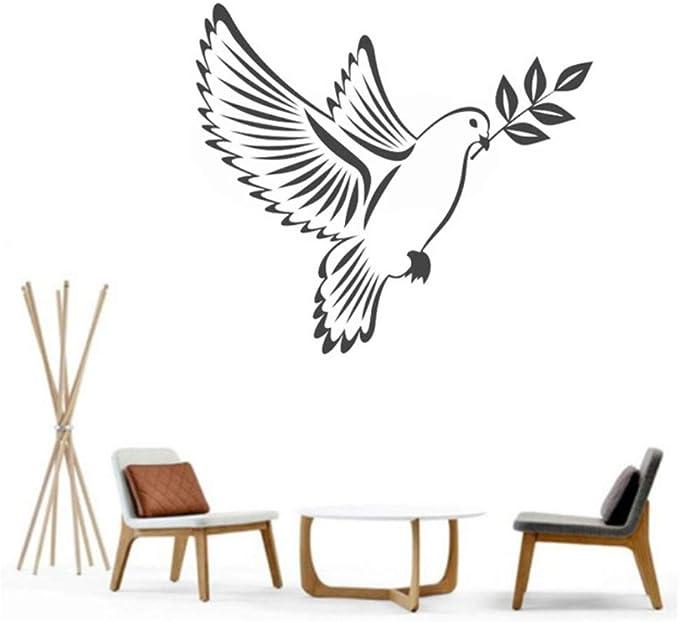Birds Peace Vinyl Wall Art Stickers Decoración para el hogar Sala ...