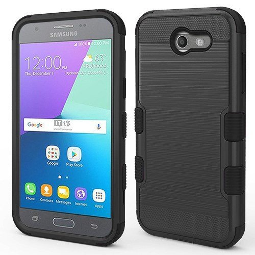 Amazon com: MyBat SAMSUNG-J327P Galaxy J3 Emerge/Prime Black