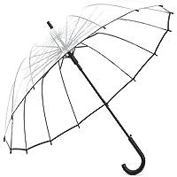 Lancoon Paraguas De Burbuja Transparente, 16 Costillas De