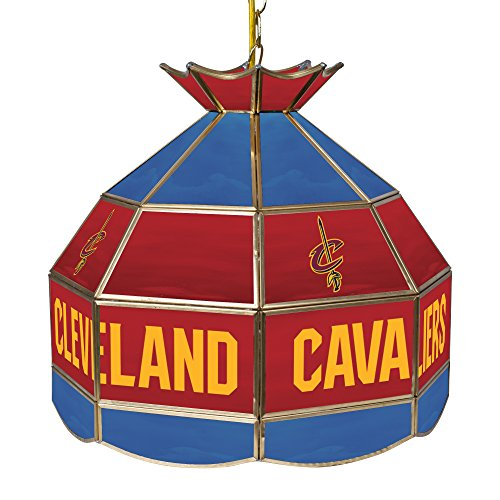 NBA Cleveland Cavaliers Tiffany Gameroom Lamp, 16'' by Trademark Gameroom