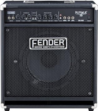 Amplificador bajo eléctrico Fender Rumble 75 Combo 75 W