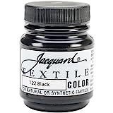 Jacquard Products Black -Textile Color Paint, Acrylic, Multicolour
