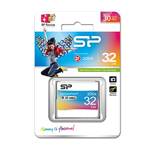 Silicon Power 32GB Hi Speed 200x Compact Flash CF card by Silicon Power (Image #1)