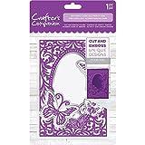 Crafter's Companion 5'' x 7'' Paper Craft Cut & Emboss Folder - Butterfly Kiss