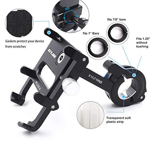 Amazon.com: Soporte de teléfono móvil para bicicleta y ...