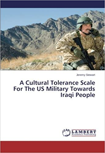 Amazon   A Cultural Tolerance Scale For The US Military