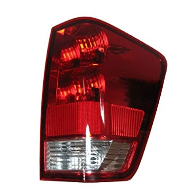2004-2012 Nissan Titan (04-10 LE & SE MODEL, 08-12 PRO-4X) Taillight Taillamp Without Utility Bed Rear Brake Tail Lamp Light Right Passenger Side (2004 04 2005 05 2006 06 2007 07 2008 08 2009 09 2010 10 2011 11 2012 12): Automotive