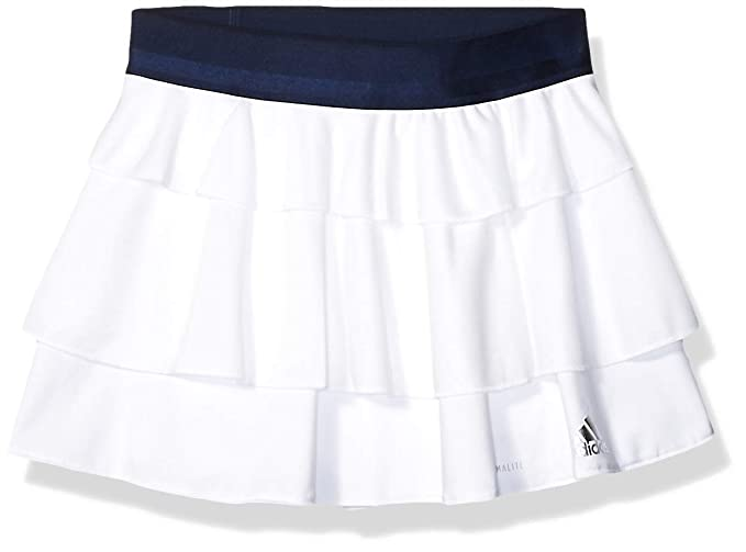 adidas Falda de Tenis con Volantes para niñas: Amazon.es: Ropa y ...