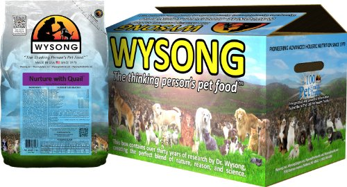 Wysong Nurture with Quail Canine/Feline Formula Dog/Cat Food, Four-5 Pound bags