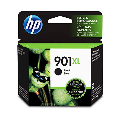 - HP 901XL Black Ink Cartridge (CC654AN)