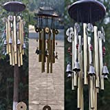 CALDIPREE Wind Chimes for Home/Balcony with Good Sound (08 Bells & 13 Tubes)