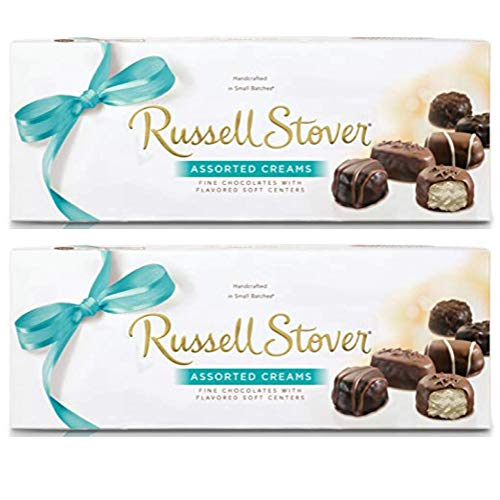 Chocolate Assorted Creams - 2 box pack - Russell Stover Chocolates, Assorted Creams, 12 oz per box
