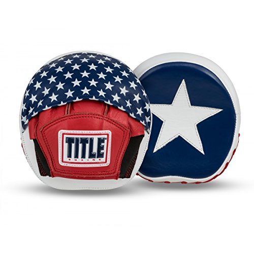 - Title Boxing USA Leather Micro Punch Mitts