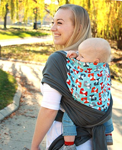 Snuggy Baby Hybrid Stretch Wrap- Foxy