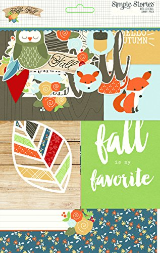 Snap! Card Pack 122/Pkg-Hello Fall