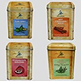 Caribou Tea Tins 20 - Sachets per Tin (4 Flavor Tea Sampler)