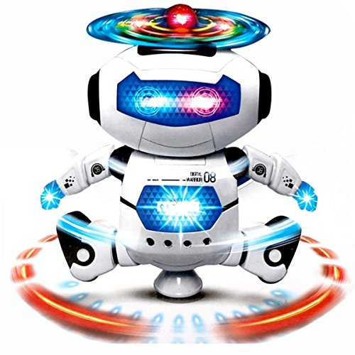 DIMY Toys for 3-5 Year Old Boys, Dancing Robot Toys for Kids Toddlers Gifts for 2-5 Year Old Boys Toys Age 2-6 Blue (Toy Robots For Toddlers)