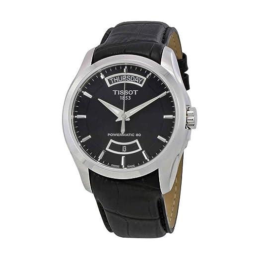 TISSOT COUTURIER POWERMATIC 80 RELOJ DE HOMBRE AUTOMÁTICO T035.407.16.051.02: Amazon.es: Relojes