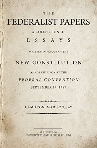 Original federalist papers for sale