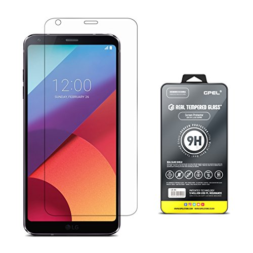 LG G6 Screen Protector Tempered Glass [True Edge...