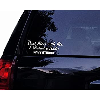 Navy Mom Decal for Vehicle//Car//Bumper 6 x 3