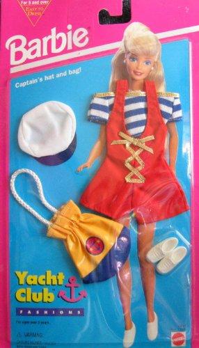 Amazon com: Barbie Yacht Club Fashions w Captain's Hat and Bag