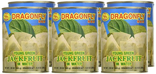 Young Green Jackfruit in Water - 20oz (Pack of 6) by Dragonfly (Image #1)