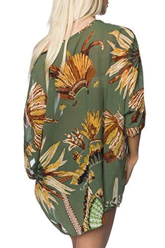 luxury & good Dessous - Camiseta sin mangas - para mujer Verde