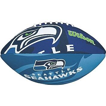 Wilson F1534XB - Balón de fútbol americano para niños, diseño de Seattle Seahawks: Amazon.es: Deportes y aire libre