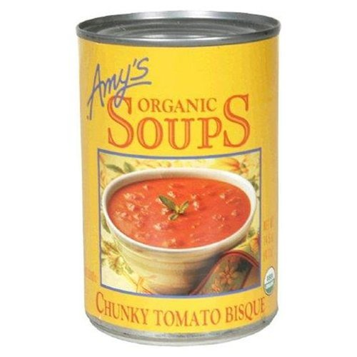 Amy's Organic Chunky Tomato Bisque 14.5 OZ (Pack of 2) by Amy's