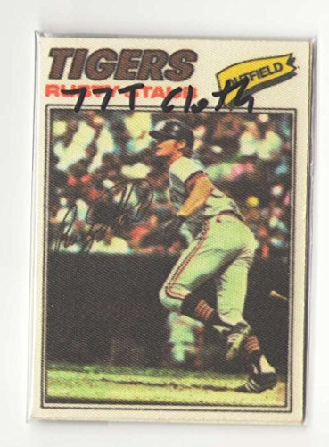 1977 Topps Cloth Stickers - DETROIT TIGERS Team - 1977 Topps Cloth