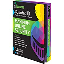 GuardedID Anti-Malware Keystroke Encryption Software | 1 Year, 2 Devices | PC, Mac