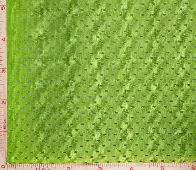 Bright Green Football Mesh Sport Fabric 2 Way Stretch Polyester 58-60