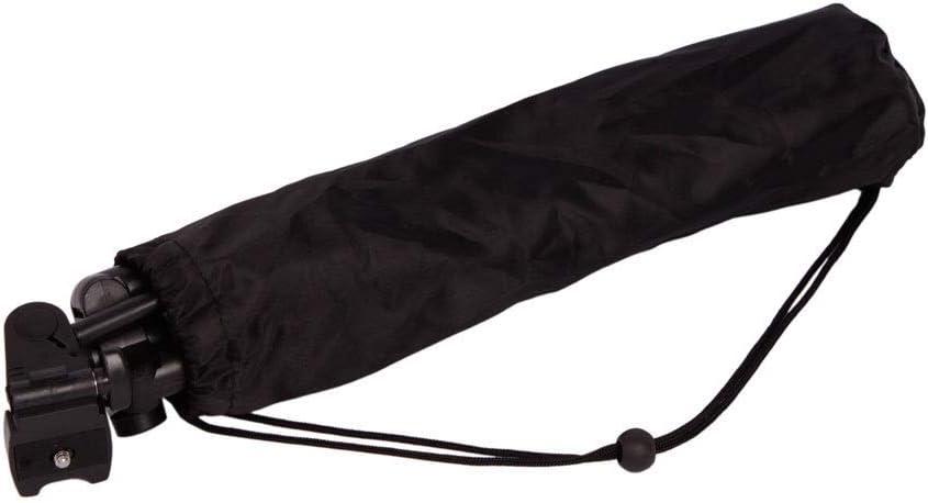 YISHENG 360/° Swivel Fluid Head Professional Flexible Aluminum Tripod Self-aligning Metal Quick-flip Leg Locks Black