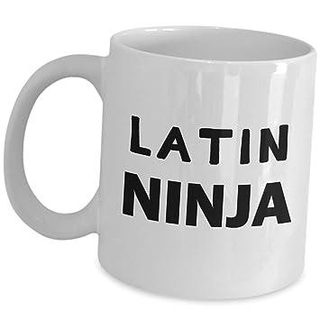Amazon com: Appreciation Gift Idea for Latin Ninja Teacher