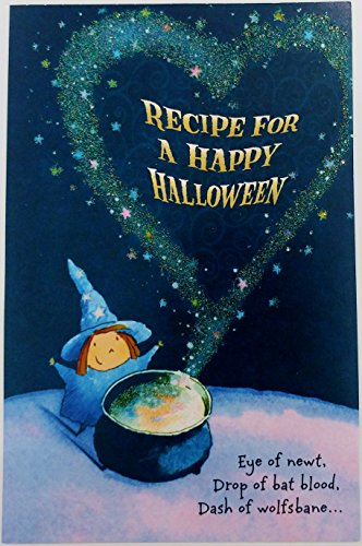 Recipe for A Happy Halloween Greeting Card