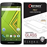 Chevron 0.3mm Pro+ Tempered Glass Screen Protector for Moto X Play