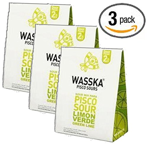 (Wasska Peruvian Pisco Sour - Limon 4.4oz - (3-Pack))