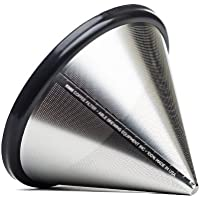 Able Brewing Kone Coffee Filter for Chemex Coffee Maker - stainless steel reusable