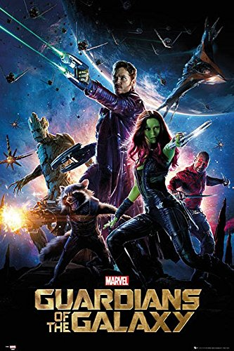 Póster Guardians of the Galaxy/Guardianes de la Galaxia ...