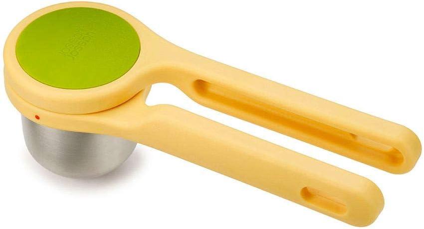 Joseph Joseph 20101 Helix Citrus Juicer Ergonomic Twist-Action Hand Press Stainless Steel, Yellow