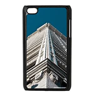 Case for Ipod Touch 4, Seattle Skyscraper Case for Ipod Touch 4, Pharrel Black